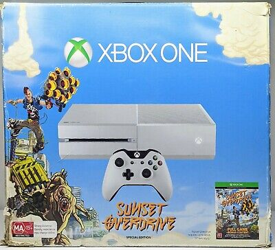 AU113 • Buy Microsoft Xbox One 500GB Sunset Overdrive Special Edition Bundle+games+headset