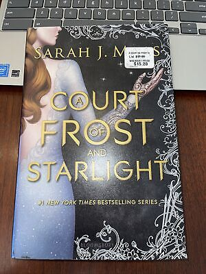 $12.99 • Buy Court Of Frost And Starlight By Sarah J. Maas (2018, Hardcover)