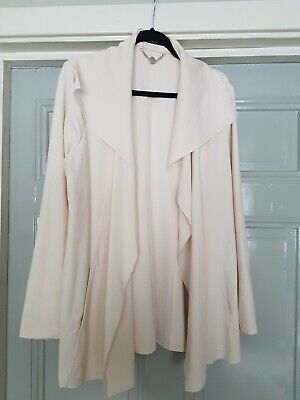 MARC CAIN Light Pink  Unlined Stretch Jacket N6 16/18 • 14.99£