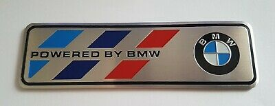 $12.68 • Buy Powered By BMW Motorsport Badge M Performance