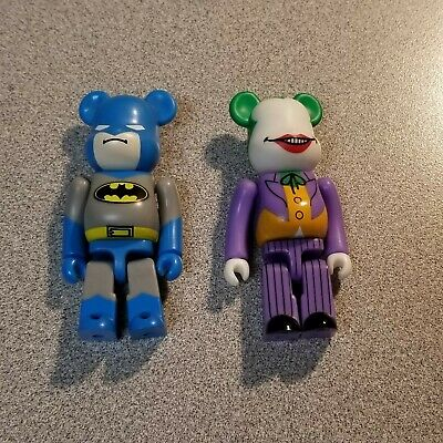 $61 • Buy Medicom Bearbrick Be@rbrick Batman Joker 2008 Set Vintage 100%