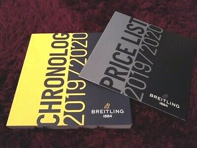 £10.99 • Buy Breitling 2019 / 2020 Watch Catalogue - 266 Pages - UK Issue + Price List