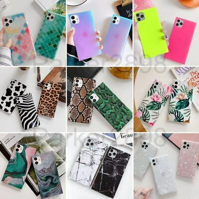 AU7.21 • Buy For IPhone 12 11 Pro XR XS Max 8 7 SE2 Laser Pattern Fluorescent TPU Case Cover