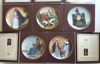 $ CDN75.53 • Buy 5 Edwin Knowles Collector Plates, Norman Rockwell's Colonials: Rarest Rockwells