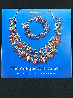 Jewellery Maker Instructional DVD: The Antique With Antiks With Linda Brumwell • 3.95£