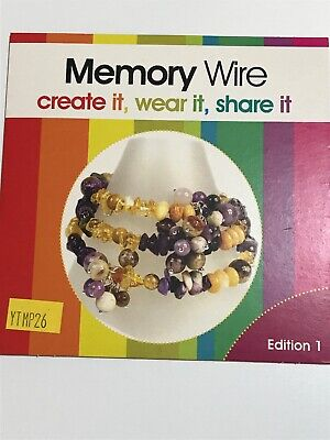 Jewellery Maker Instructional DVD: Memory Wire Edition 1 • 2.25£