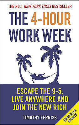 AU15 • Buy The 4 Hour Work Week Tim Ferriss Paperback Book Four 9 5 Escape | Free Shipping