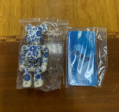 $88 • Buy *MINT* Bearbrick Pattern Hibiscus Secret Series 4 100%