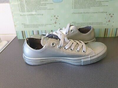 £25 • Buy ** Worn Once ** Womens Silver Counter Climate Converse All Star Size Uk 5