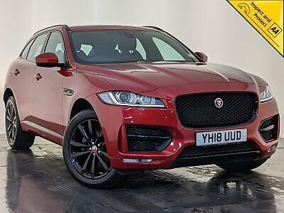 2018 Jaguar F-pace R-sport 4x4 High Spec Auto Panoramic Roof 1 Owner Svc History • 24,000£