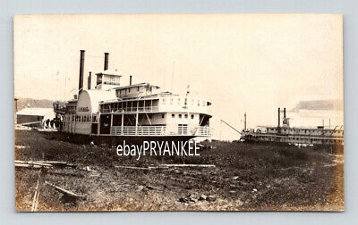 $174.95 • Buy 1890s Antique KATE ADAMS Mail Packet Boat STEAMSHIP Unpublished Photo PADUCAH KY