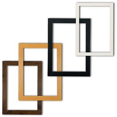 £3.74 • Buy Black Picture Frames White Photo Frame Poster Frame Rustic Oak A1 A2 A3 A4 A5