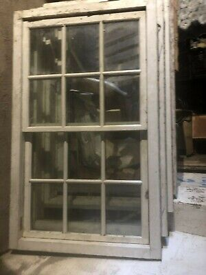 1 Hardwood Sliding Sash Windows Double Glazed And Pre Finished - Unused • 300£