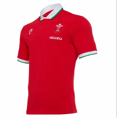 £19.99 • Buy NEW 2020-2021 Red Wales Rugby Jersey Short Sleeve T-shirt S-5XL