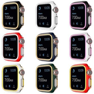 AU10.99 • Buy Watch Case Apple Watch Series 6 SE 5 4 3 Hard Bump Case PC Cover Protector 40/44