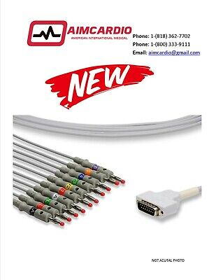 $104 • Buy GE Mac 1200 Patient Cable|New