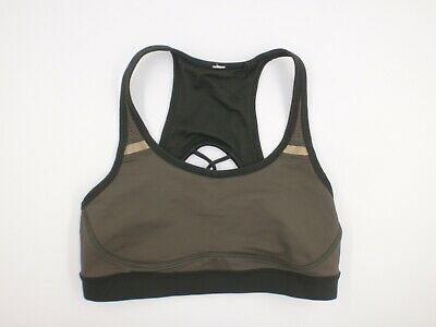 $ CDN31.22 • Buy Lululemon Women's 4 Green Strappy Sweaty Or Not Sports Bra