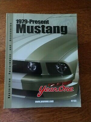 $2.99 • Buy Year One MUSTANG Parts & Accessories Catalog 1979-2005 Restoration