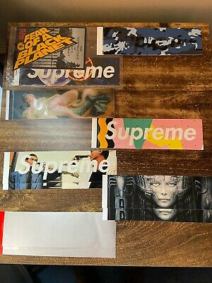 $ CDN160.06 • Buy Supreme 100% Authentic Sticker Collection From 2012-2021 150+ STICKERS BOX LOGO