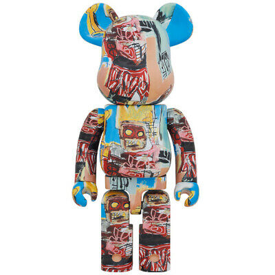 $1099.98 • Buy Jean-Michel Basquiat #6 1000% Bearbrick Medicom Be@rbrick 2020 Rare Limited