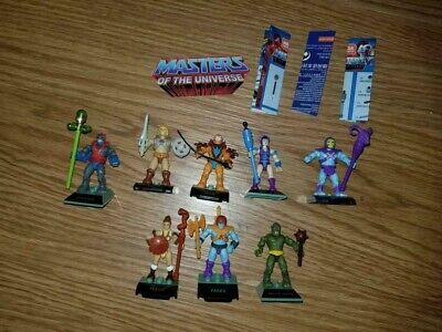 $4.25 • Buy Masters Of The Universe Mega Construx 8 Figures