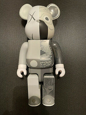 $710 • Buy Kaws Dissected Companion: 400% Bearbrick (Grey)