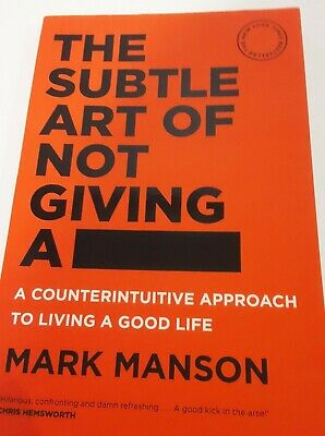 AU19 • Buy  The Subtle Art Of Not Giving A F*ck  ~ Mark Manson