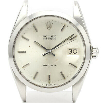 $ CDN2383.33 • Buy Vintage ROLEX Oyster Date Precision 6694 Steel Mens Watch Head Only BF525133