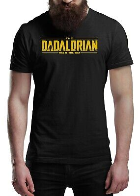 Fathers Day T Shirt THE DADALORIAN This Is The Way Men's Fun Gift Novelty Shirt • 11.99£