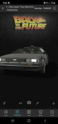 VeVe NFT - DeLorean 1:1 - ULTRA RARE /12500 1 Back To The Future - SOLD OUT • 399£