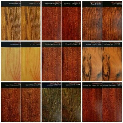 £4.95 • Buy Light Fast Wood Stain / Wood Dye Intercoat -  Any Colour & Quantity