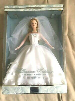 $49.49 • Buy Millennium Wedding Barbie The Bridal Collection  First In The Series 1999