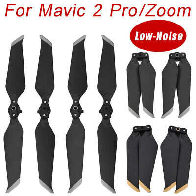 AU12.29 • Buy 2 Pairs 8743F Low-Noise Quick-Release Propellers Blades For DJI Mavic 2 Pro/Zoom