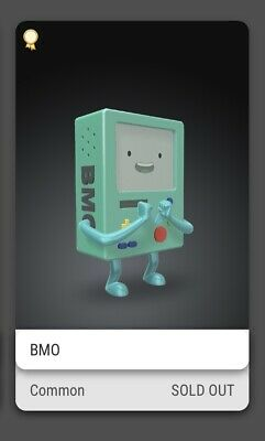 $45 • Buy BMO VeVe NFT Collectible China Exclusive Adventure Time (Selling Out QUICK!)