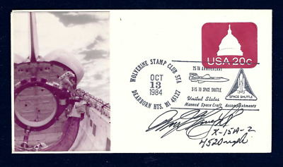 £34.76 • Buy William  Pete  Knight Signed Cover X-15 Test Pilot Spaceplane