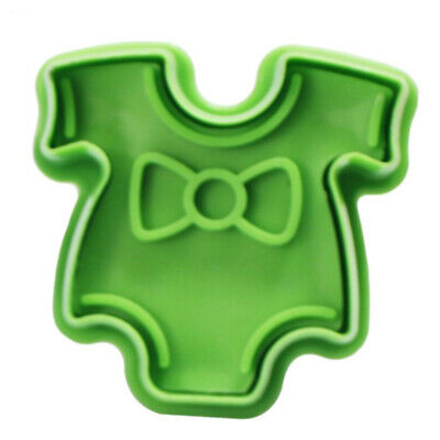 £6.40 • Buy 4PCS/Set Stamp Plunger Cutter Cookie Mold DIY Hand Press 3D Baby Clothes Shower