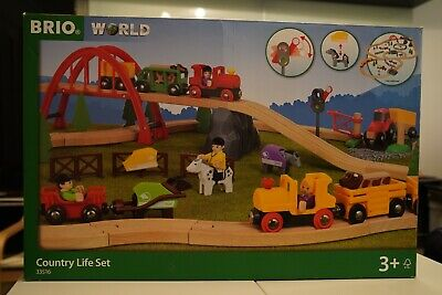 £100 • Buy Brio World 33516 Country Life Train Set Hardly Used In Box