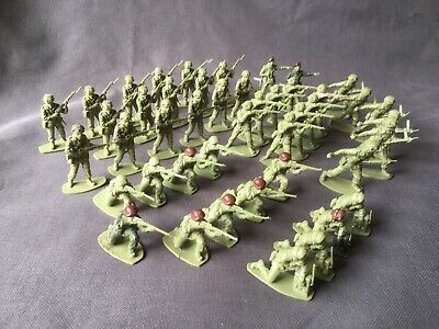 Airfix 1/32 Scale Model Soldiers. British Paratroops. Original 1970's Product • 16£