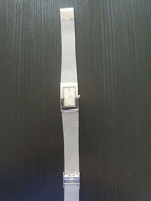 £7.99 • Buy New Look Accessories Watch Mesh Bracelet New Battery Fitted