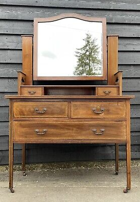 £98 • Buy Traditional Edwardian Inlaid Dressing Chest