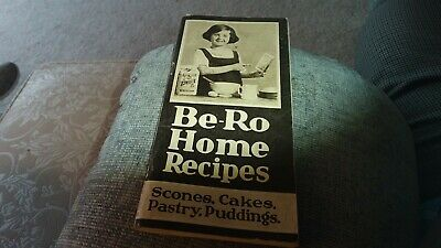 Be-ro Home Recipes Scones Cakes Pastry Pudding • 20£