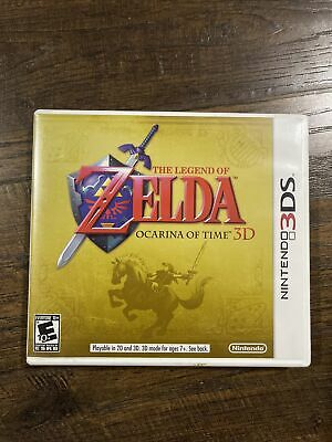 AU24.84 • Buy The Legend Of Zelda: Ocarina Of Time 3D (3DS, 2011) Complete Smoke Free Home