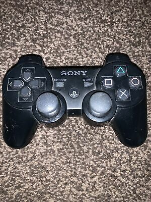 Official Genuine Sony PS3 Playstation 3 DualShock Wireless Controller (CECHZC2E) • 0.99£