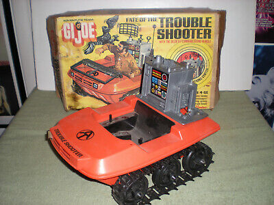 $ CDN213.41 • Buy 1974 GI Joe Adventure Team Fate Of The Trouble Shooter Vehicle & Box /miss Parts