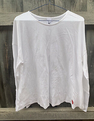 AU74.95 • Buy M A Dainty Long Sleeve Top White Small BNWT RRP $139