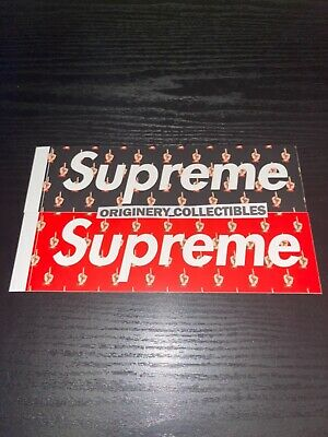 $ CDN31.38 • Buy 100% Authentic Supreme Undercover Box Logo Stickers SS15 Set