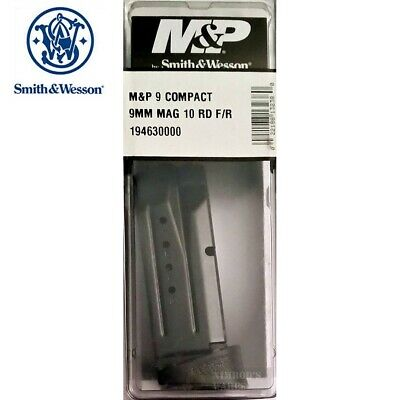 $38.16 • Buy S&W Smith & Wesson M&P Compact 9mm 10 Round MAGAZINE + Ext. 19463 FAST SHIP