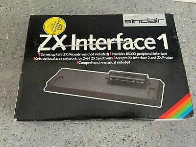 AU18.90 • Buy BOXED Sinclair ZX Interface 1 With POLYS TESTED - ZX Spectrum