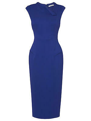 AU80.39 • Buy LK Bennett Leroux  Dress Size 14 - Blue