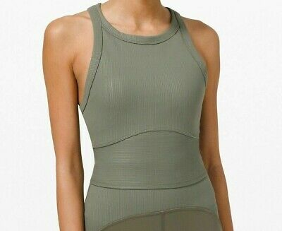 $ CDN124.28 • Buy Lululemon NEW With TAG Most Popular DISCONTINUED Blissful Bend Tank Top (DISE)12